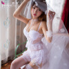 Фэй Му сексуальное нижнее белье принцесса кружева юбка костюм ясновидящая снаряжение пижамы страсть ролевых белых женщин сексуальная одежда 7738 baile pretty love backie розовый вибростимулятор простаты