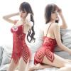 Кошки cupidcat горячих ремней сексуальных нижнего белья полой кружевные пижамы сорочка двухсекционного красная богемные 6 beastly маска черно красная