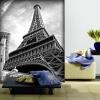 Пользовательские обои для фото большие обои для ТВ обои для рабочего стола диван для спальни европейская черно-белая башня