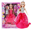 Abbie Lens Eyes with 3D Curl Eyelashes Doll Toys Clothes Gown Outfits and Shoes for Girl's Birthday Party Christmas Gift коляска tutis 3 в 1 zippy orbit бежевый лайм белый кант