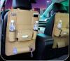 Pu кожаное сиденье заднего сиденья органайзер и IPad мини-держатель, универсальное использование в качестве автомобиля Backseat Ор органайзеры на сиденья blonder home раскладной столик для заднего сидения автомобиля