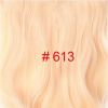 24 inch Wavy Clip in Hair Extensions Synthetic Heat Resistant Fiber Pure Color 4 Clips 190g/pc 17 Colors Available medium long wavy heat resistant fiber hair white lace front synthetic wig