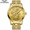 GUANQIN  Мужские часы автоматические механические водонепроницаемые случайные мужские часы chenxi мужские часы роскошные моды кварцевые часы мужские полные стальные водонепроницаемые часы