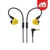 Technica (Audio-Technica) АТН-LS50iS динамический телефон с двойной уха наушника провода желтый цена