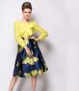 Lovaru ™ Темперамент шифон юбки станция Европы 2015 летом новый женский большой идеи пачку