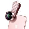 все цены на Новизна (LIEQI) LQ-046 мобильный телефон широкоугольный объектив Macro Combo Kit Apple, iphone Huawei селфи внешние зеркальные камеры лепесток розы типа золота онлайн