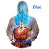 Anime Dragon Ball Z Pocket Hooded Sweatshirts Cute Kid Goku 3D Hoodies Pullovers Men Women Long Sleeve Outerwear Hip Hop Hoodie