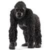 Фото Сила Schleich немецких бренд ручного цвета краска живая природа имитационная модель животных образовательной учебная раннее детство помогает детям в возрасте до 3 лет - женщина горилл SCHC14771 детство лидера