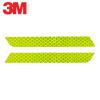 3M Светоотражающий бампер Столкновение Предупреждение Стикер Scratch Автомобильные наклейки Автомобильные наклейки 2.5 * 21.6cm (2 Pack) Люминесцентные желтые зеленые автомобильные ароматизаторы chupa chups ароматизатор воздуха chupa chups chp801