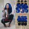 8A Бразильская волна тела Ombre цвета 2 тона 1B голубая 3 ПК Горячие выдвижения человеческих волос Оптовая темные корни 2 тона волос Bundles бюстгальтер доска для объявлений dz 1 2 j8b [6 ] jndx 8 s b