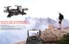 Складной мини-RC Drone 2.4Ghz 6-осевой гироскоп Nano Quadcopter с HD-камерой, однократным возвратом и безголовым беспилотивом для