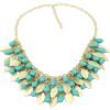 YAZILIND Мода ювелирные изделия Листья Коренастый себе Биб подвеска цепи Колье Ожерелье Женщины Ювелирные изделия