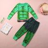 Волк (canis@косплей Невероятный Халк детские детские для мальчиков домашняя одежда пижамы пижамы установить 2шт