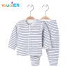 Одежда высокого качества для мальчика Одежда для девочек с мягкой девочкой наборы Хлопок с длинным рукавом Весенняя зимняя одежда одежда для новорождённых