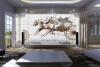 Обои на рабочий стол 3d обои для рабочего стола KTV личный фон диван красивая лошадь 3D HD обои для рабочего стола