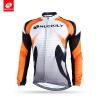 NUCKILY Мужчины Светоотражающая дорожная одежда для велосипеда Одежда Custom Long Sleeve Велосипед Велоспорт Джерси для зимы NJ528 одежда для новорождённых