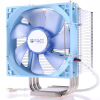 Prolimatech Basic48 тепло процессора раковина (B48 / нижняя медь / металлический зажим / тепловая труба 3 / ШИМ вентилятор) pioneer singfun вентилятор мультфильм стол зажим зажим настенный вентилятор db1202 вентилятор