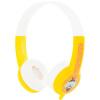 BUDDYPHONES Стандартный выучить английский язык детские музыкальные наушники гарнитуры слабослышащих детей, чтобы защитить студентов милый желтый подарок на день рождения