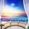 Пользовательские фото 3D обои Современный Восход Пейзаж Приморский Гостиная Диван Фон Настроить Личность Обои Mural