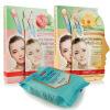 Pu Jing Xin (PUREDERM) (+ увлажняющая маска поры Combo Combo маски + Очищающие салфетки) пакеты по уходу purederm увлажняющая и питательная маска для ногтей пальцев рук 3 шт