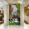 Обои для рабочего стола 3D Waterfall Входной фон Wall Decor Wall Painting Природа Пейзаж Обои Murales De Pared 3D бумажные обои covers wall coverings textures 81 quartz