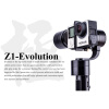 zhiyun z1-evolution EVO 3 оси кпк стабилизатор brushless траектории для gopro герой 4 xiaomi и sj4000 sj5000 спорта камеры
