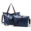 году новый бренд дизайнер композитных сумка женская кожа 3 штуки сумки Винтаж каменный мешок плеча женщин сумки Messenger