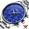 Кварцевые наручные часы мужской часы Элитный бренд платье Часы Роскошные Водонепроницаемый часы Нержавеющая сталь чехол Черный часы kenneth cole kenneth cole ke008dmwtw72