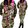 2017 New Women' Fashion 2 Parts Hooded Sweatshirt and Pants Set floral baby girls clothes long sleeve sweatshirt pants outfits 2pcs hooded clothes set