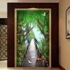 Пользовательские обои 3D Mural Лес Деревянный мост Лось цветок Vine Fresco Гостиная Вход в отель Фон Обои 3 D Mural бумажные обои fresco cool kids ks2249bd