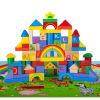 Дерево дорогие дети и радуга животных сцены развивающие игрушки деревянные строительные блоки детские для борьбы вставки блоков крупных частиц бутылках MGY0048 развивающие деревянные игрушки кубики животные