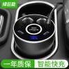 Llano (llano) Автомобильное зарядное устройство Быстрое зарядное устройство Автомобильное зарядное устройство Зажигалка Dual USB2.4A и QC3.0 / FCP Семь быстрых протоколов зарядки с дисплеем напряжения Металл 30W