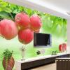 Пользовательские 3D-обои для фото Fresh Fruit Large Wall Painting Ресторан Гостиная Диван ТВ Фон Фреска Обои WallCovering фон для презентации черный