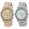 SHENSEE® новый дизайн, 2 шт. в упаковке Женеве серебряные и позолоченные классические круглые женские часы бесплатная доставка бесплатная доставка 5 шт max436esd max436csd соп новый оригинальный пятно кредит магазина