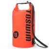 Сумка для купания TOSWIM мокрый и сухой разделение Открытый плавательный мешок водонепроницаемая сумка сумка для пляжа сумка оранжевый черный стандарт горки и сидения для ванн luma подставка для купания анатомическая