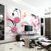 Пользовательские обои для фото 3D стерео ТВ фон обои для рабочего стола гостиная диван спальня обои нетканая роспись фон для презентации черный