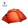 Hillman Family Tent 210T Ultralight Fabric For 4 Person Aluminum Rod Portable High Mountain Outdoor Tent mountain hardwear mountain hardwear ghost ul 2 tent