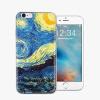 iPhone X 7 6 6s 8 Plus 5 5S SE Чехлы для мобильных телефонов Van Gogh Star печать TPU Мягкий силиконовый защитный чехол для iPhone 4