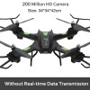 New Cool HD Aerial Camera UAV Stunt Flight HD Aerial Photography Six Axes Cool Light HD Camera 2.4G HZ Headless mode One Key Retur