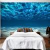 Пользовательские фото стены Бумага 3D Deep Sea Scenery Большие обои обои Обои для стен Гостиная Спальня Обои для стен 3 D т мные обои для стен где