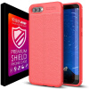 NOZIROH case For Huawei Honor V10 Cover Silicone Matte TPU Back Protector matte tpu back cover case protector for xiaomi mi4 translucent blue