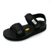 Летние мужские сандалии Обувь 2018 Модные черные сандалии Мужчины Белые дно Море Обувь