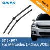 SUMKS Wiper Blades for Mercedes C-Class W205 22&22 2015 2016 2017 only suitable to left hand drive country mercedes а 160 с пробегом