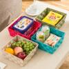 Ou Runzhe тканые корзины квадратные корзины для хранения корзины 21CM 4 цвета