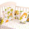 elepbaby Бамперы и постельное белье для детской кровати 120 * 70см wellber стельное белье для детской кровати 145x100cm