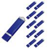 Fillinlight 10PCS Pack Navy Blue Rectangle Lighter Shape USB Flash Drive USB 2.0 Pen Drive Flash Drive usb flash drive