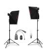 Kimbe 400w фотоснимок Flash Fill Light Softbox Light Stand Студийное оборудование Одежда натюрморт Фотография Softbox Camera Lights Studio Set