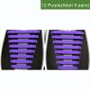 JUP12 устанавливает 196 шт Новый творческий дизайн Мужские женщины Мужчины Спортивная одежда Нет галстуков Шнурки Упругие силиконо цена и фото