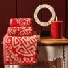 Vosges Jade Свадебная банная баня Hi Word Вышивка Хлопок Абсорбирующее полотенце * 2 + Банное полотенце * 1 Красный печь банная радуга пб31б навесной бак 55л