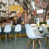 Пользовательские фото обои 3D стерео гостиная спальня обои Гонконг современная фреска случайный Cafe обои настенная роспись на заказ 3d роспись гонконг стрит шанхай улица сцена обои чай ресторан кофейня обои настенная роспись